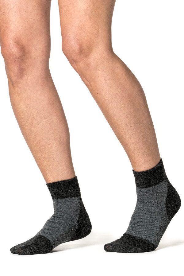 Woolpower Socks Skilled Liner short grey