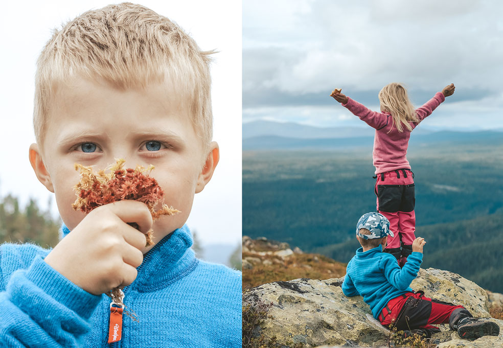 Five tips for successful outdoor recreation with children