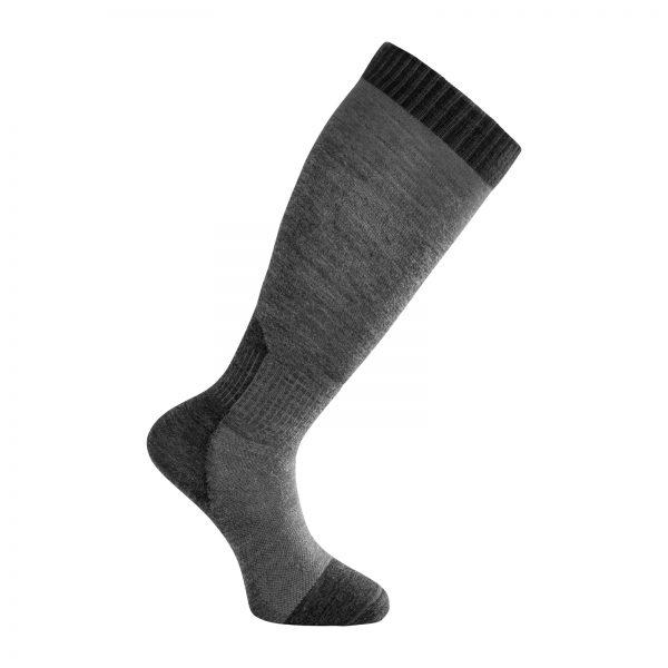 Socks Skilled Liner Knee-High Dark Grey/Grey