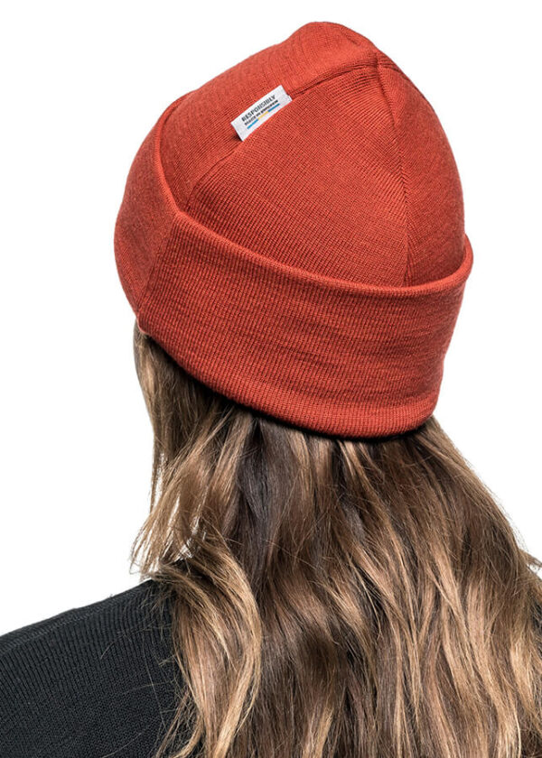 Classic everyday wool beanie
