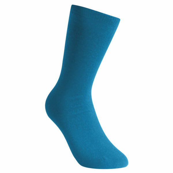Thin sock in blue. Socks Liner Classic