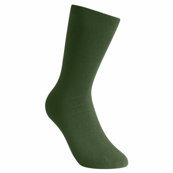 Thin sock in green. Socks Liner Classic