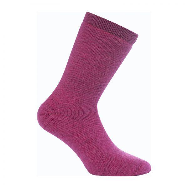 Tjocka strumpor i rosa. Namn på produkten Socks Classic 400