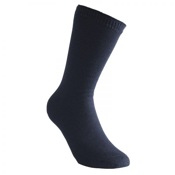 Tjocka strumpor i blå. Namn på produkten Socks Classic 400