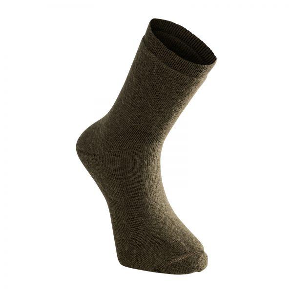Tjocka strumpor i grön. Namn på produkt Socks Classic 400