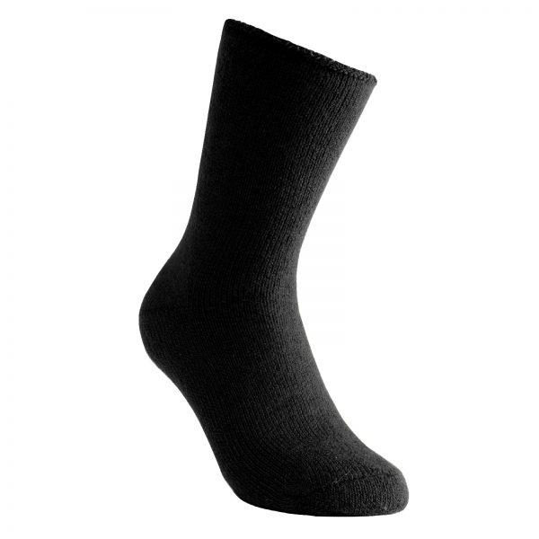 Tjocka strumpor i svart. Namn på produkt Socks Classic 600