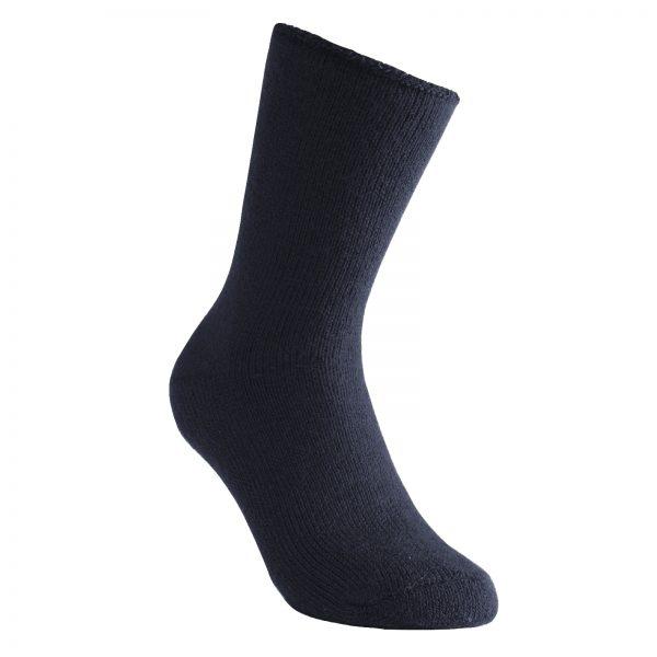 Tjocka strumpor i blå. Namn på produkt Socks Classic 600
