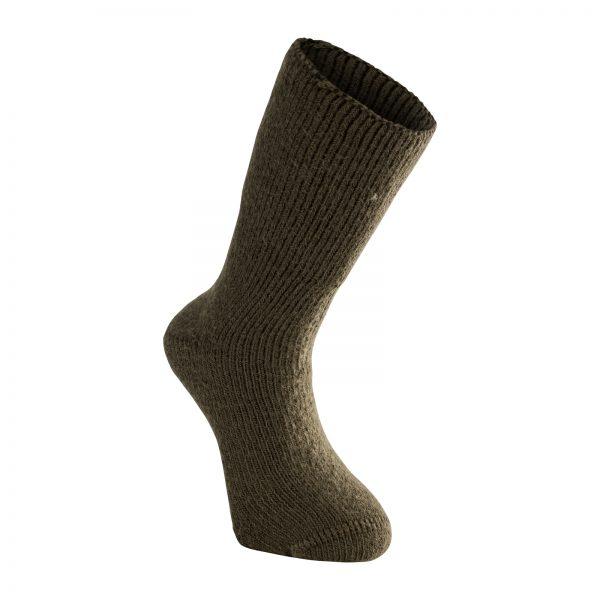 Tjocka strumpor i grön. Namn på produkt Socks Classic 600