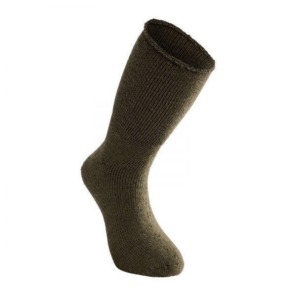 Vår tjockaste strumpa i grön. Namn på produkt Socks Classic 800