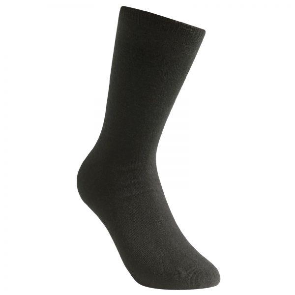 Tunn strumpa i svart. Namn på produkten Socks Liner Classic