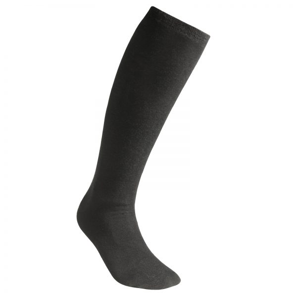 Socks Liner Knee-High Black