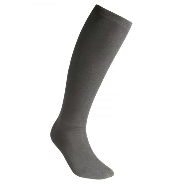 Socks Liner Knee-High Grey