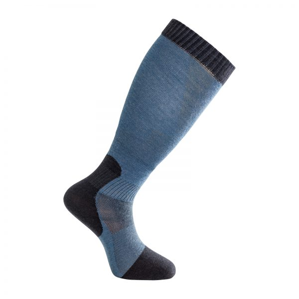 Socks Skilled Liner Knee-High Dark Navy/Nordic Blue