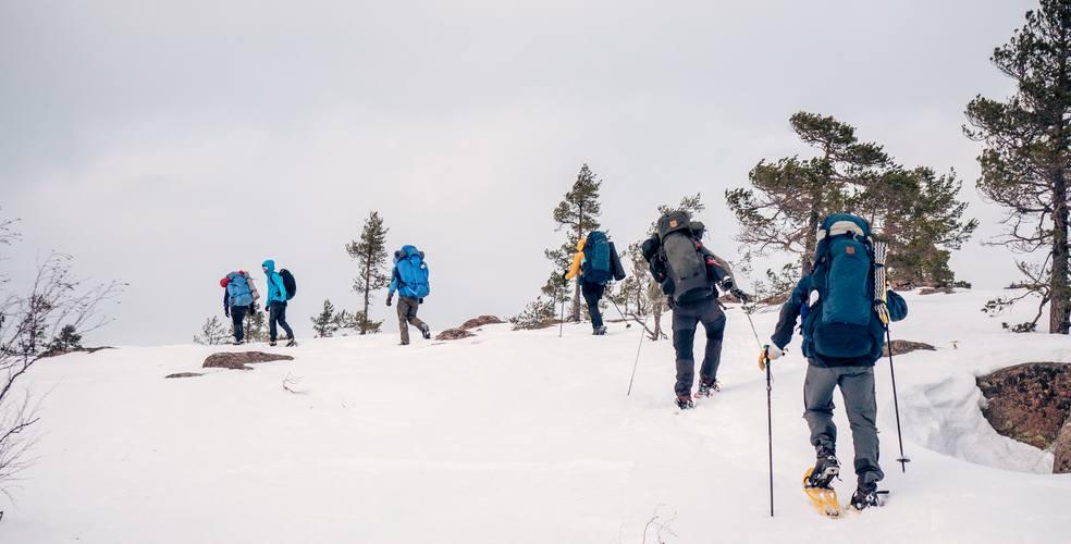 High Coast Winter Hike