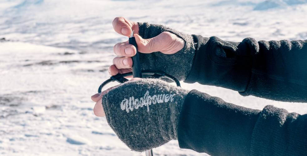 Wrist gaiters Winter