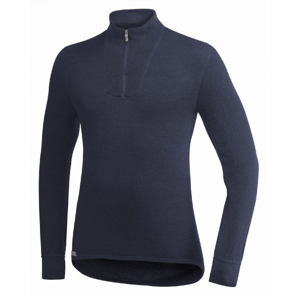 Zip Turtleneck 200 Dark Navy