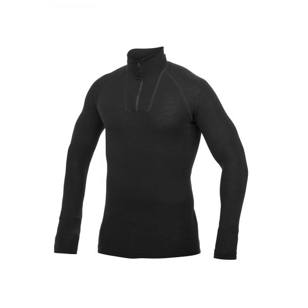 Zip Turtleneck LITE Black