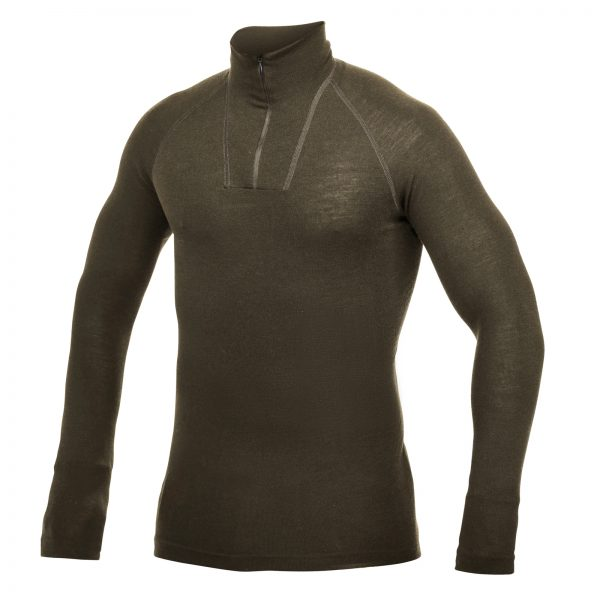Zip Turtleneck LITE Pine Green